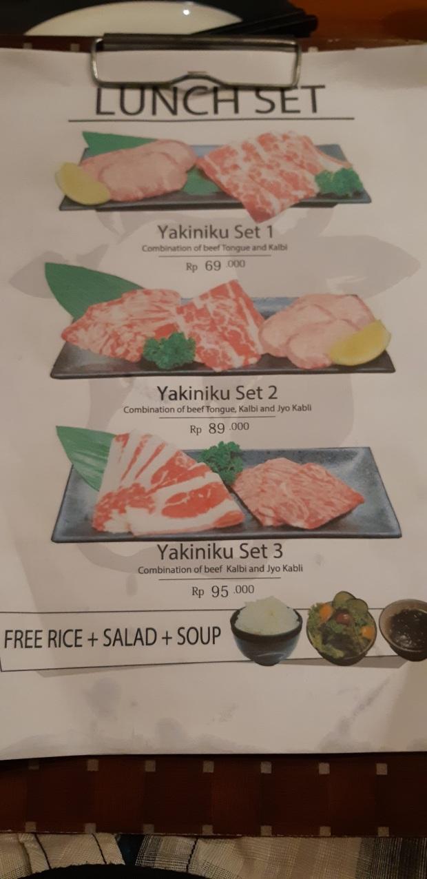 WAKI BBQ Lunch Set